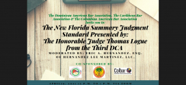 The New Florida Summary Judgment Standard